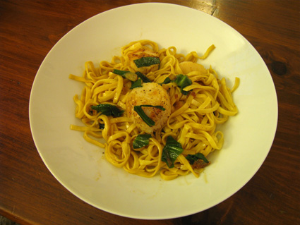 Ramp And Scallop Linguine Recipes — Dishmaps
