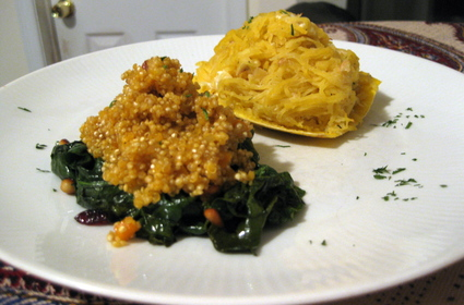 How I Learned to Love Spaghetti Squash 2