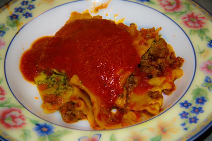 Pesto Ricotta Lasagna 1
