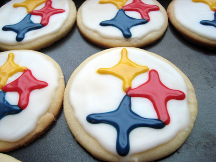Pittsburgh Steeler Cut-Out Sugar Cookies 3