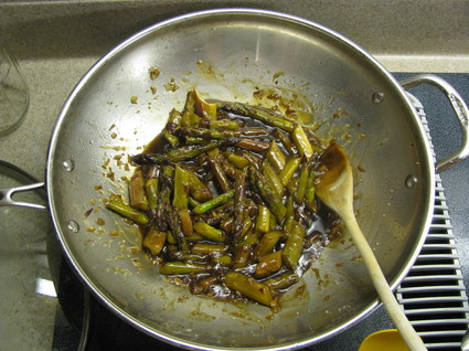 How NOT to Cook Fresh Asparagus 5