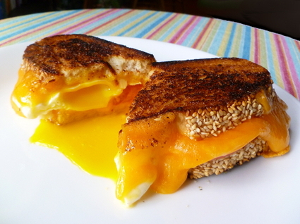 Grilled Cheese (and egg!) Sandwich, V2.0 1