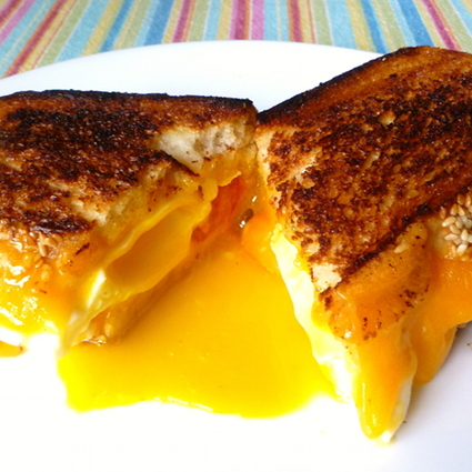 Grilled Cheese (and egg!) Sandwich, V2.0 2