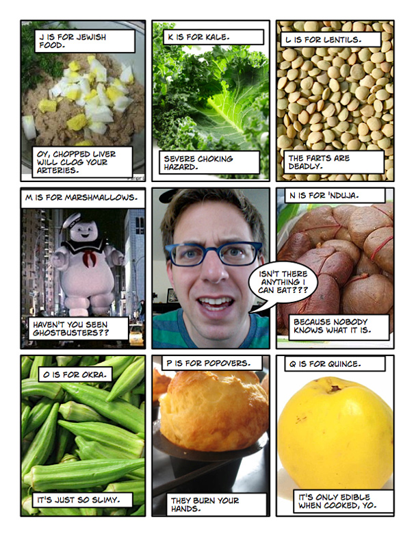 Alphabet Of Foods That Will Kill You The Amateur Gourmet