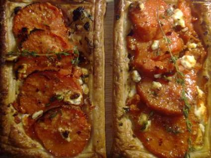 sweet potato and goats cheese galette 4