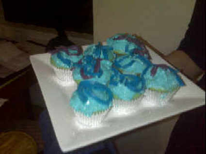 Lizzy and Alex's Bombin' Avatar Cupcakes 1